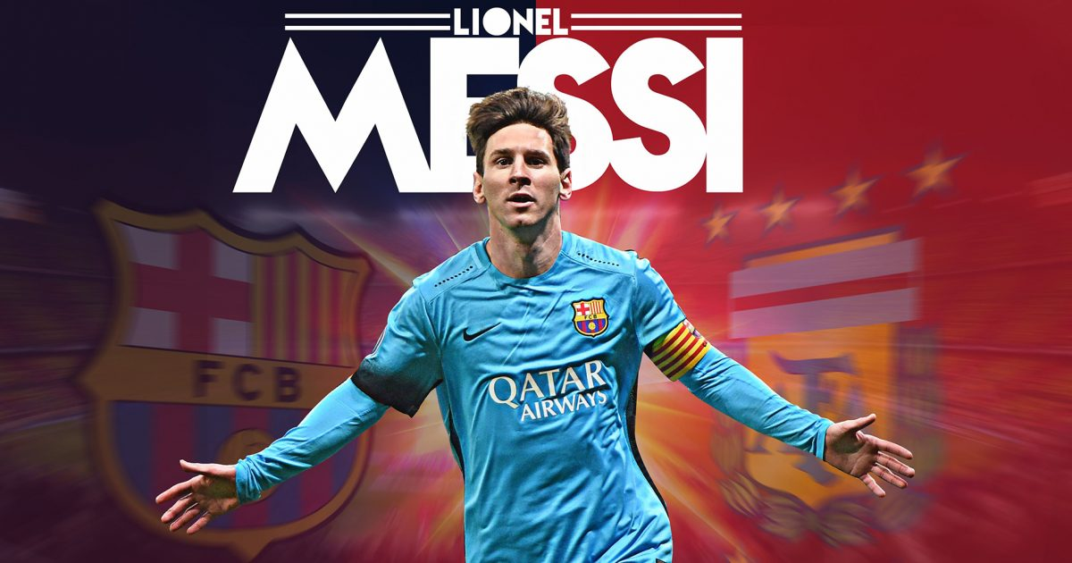 Lionel Messi 10, The Goat, for both Barcelona FC and Argentina