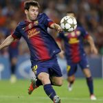 Lionel Messi 10 Scored For Barcelona FC with Left Volley