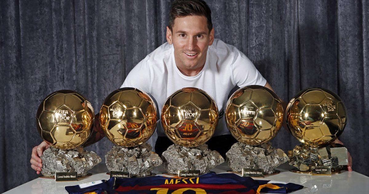 5 Time Ballon d'Or Winner Lionel Messi