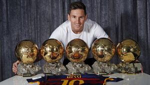 5 Time Ballon d'Or Winner Lionel Messi